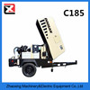 chinese Ingersoll Rand C185 Diesel cummins engine Portable Air Compressor
