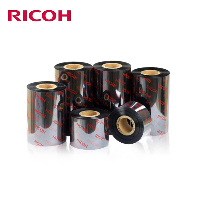 B110A Barcode Printer Ricoh Original Wax Resin Ribbon