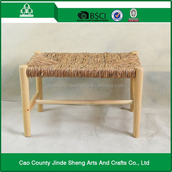 Wondrous High Quality Beautiful Rustic Style Custom Straw Rope Weaving Wooden Stool Buy Small Wood Stool Cheap Wood Stool Petrified Wood Stool Product On Gmtry Best Dining Table And Chair Ideas Images Gmtryco
