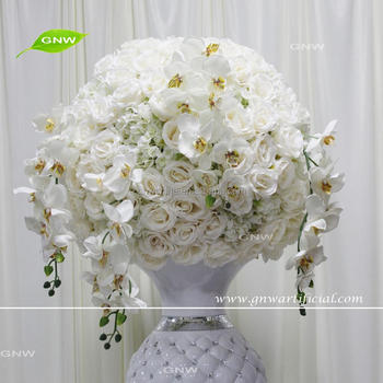 Gnw ctra 1705010 a silk white roses and orchid flower centerpieces gnw ctra 1705010 a silk white roses and orchid flower centerpieces as wedding table mightylinksfo