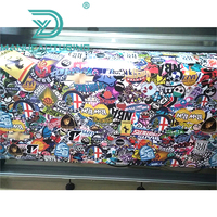 Sticker Bomb Graffiti Vinyl Cartoon JDM Adhesive Stickers For Car Scooter Motorbike Skateboard Decal Wrap Film