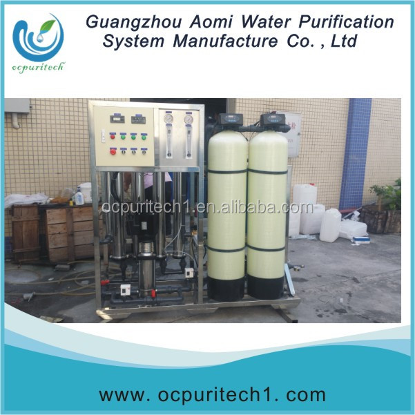 Activated carbon 250LPH RO water plant