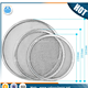 Customized 6 12 16 18 20 24 inch diamond hole stainless steel screen mesh pizza plates/pizza tool metal round disc