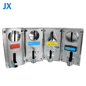 6 kinds electronic multi coin acceptor coins selector