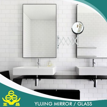 China Mirror Factory Custom Size Adjule Bathroom
