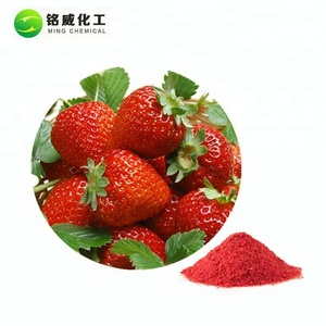 High Quality Fresh Fruit Source Freeze Dried Strawberries Flavour Powder