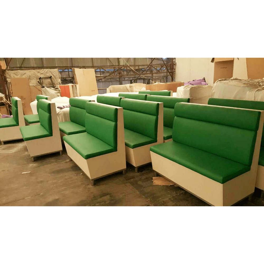 Modern style restaurant sofa booth furniture