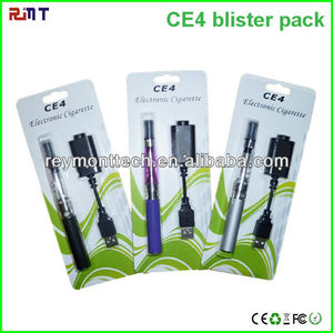 Factory Wholesale electronic cigar no burning CE4 ego blister pack