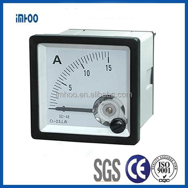 Panel Mount Ammeter Analog Ammeter Tp-48 Ac Meter Analog Ac Amp ...