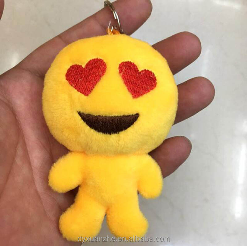 Small Size Yellow Cute Doll Keychain