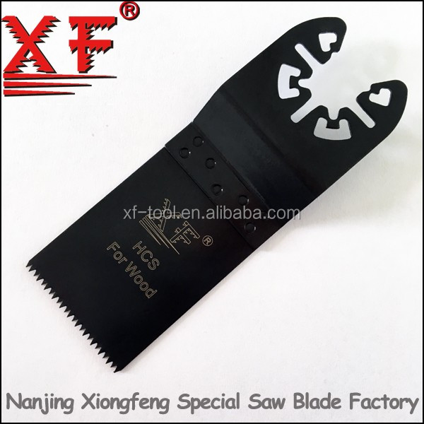 XF-K016: 18TPI fein oscillating multi tool saw blade quick change fitting multitool blades