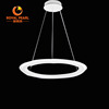 Modern minimalist living room acrylic led pendant chandelier light