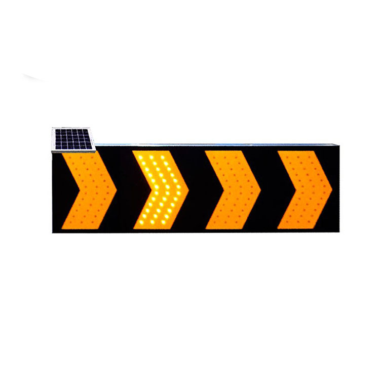 Lubao LBS3U solar power traffic road safety led warning sign