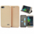 With TPU back case cover for huawei honor 4c, full curved slim leather wallet case