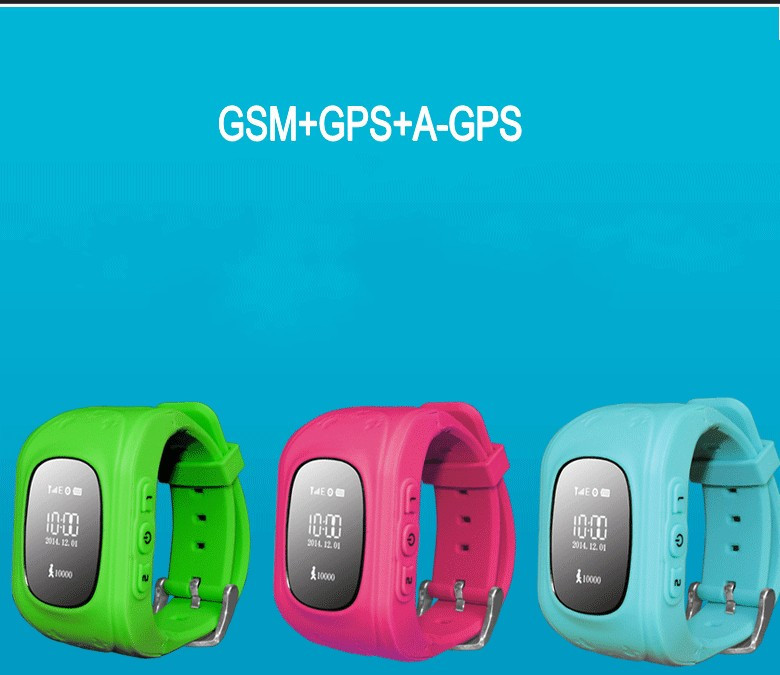 GPS Tracker Watch For Kids SOS Emergency Anti Lost GSM Smart Mobile Phone App