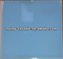 150x150mm ceramic tile sky blue