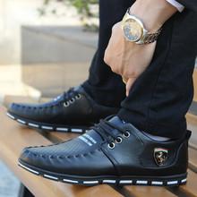 Korean Fashion Shoes For Men Casual Vintage Athletic Dress