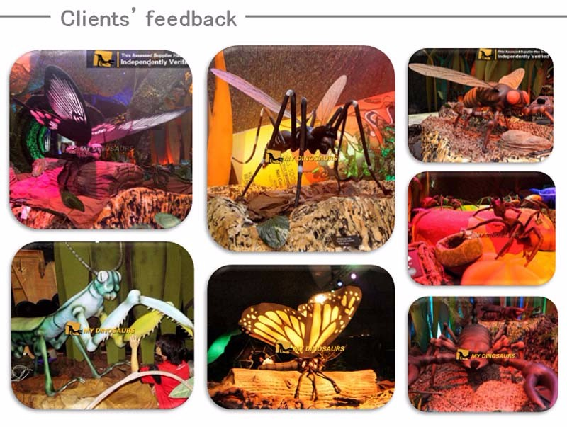 MY Dino-A13-2 Giant Animatronic Insect Props Robotic Bee