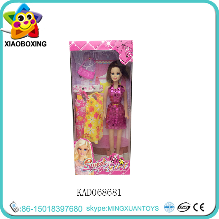 hot selling elegant sweet gir <strong>doll</strong> with handbag