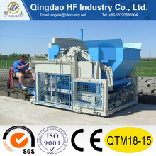 QTM18-15 mobile automatic egg laying block making machine production line