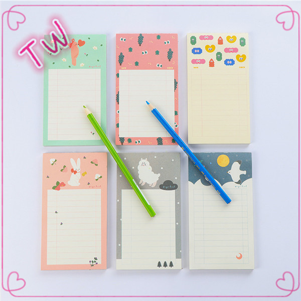 New arrival office supplies and stationery cute custom different letter shaped paper sticky notes for Writing