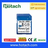 100% full capacity Taiwan 4GB Memory Secure Digital Card