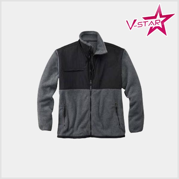 Men's winter softshell fleece jacket usa wholesale clothing
