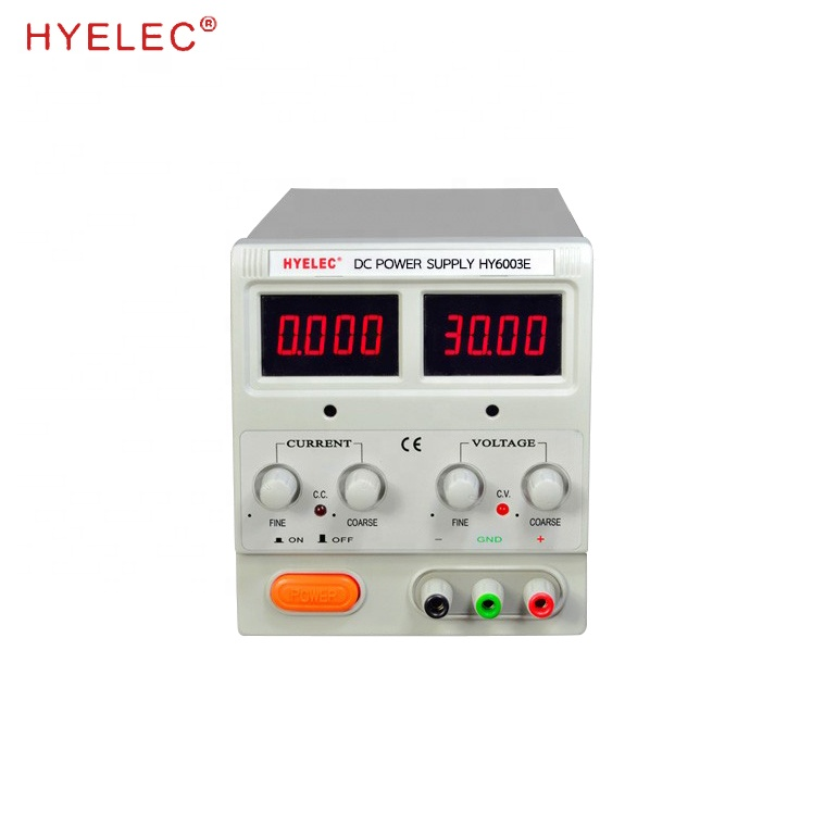 Adjustable Lab DC POWER <strong>SUPPLY</strong> HY6003E 60V 3A For Digital Repairing Company lab power <strong>supply</strong>