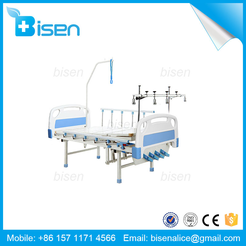 Cheap hospital stretcher/ patient delivery bed/adjustable stretcher with easy to wash system