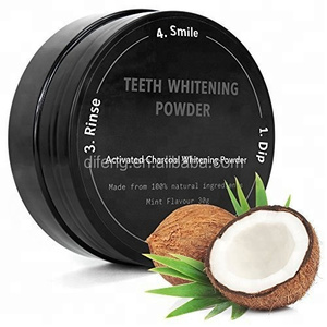cheap toothpaste with active coconut charcoal, natural teeth whitening powder