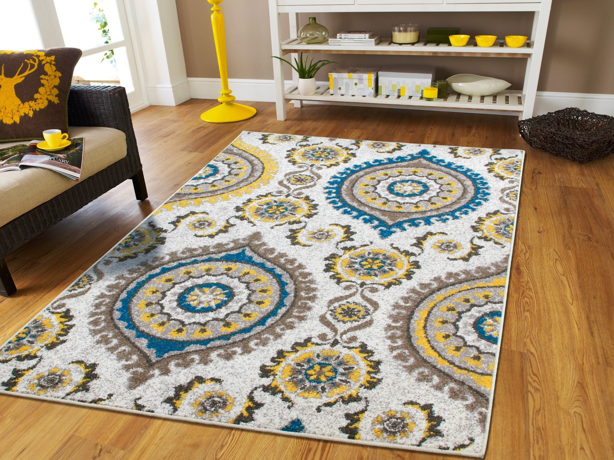 Buy Large 8x11 Modern Area Rug Comteporary Abstract Carpet