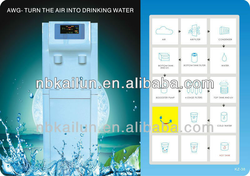 Air water generator 38L/day