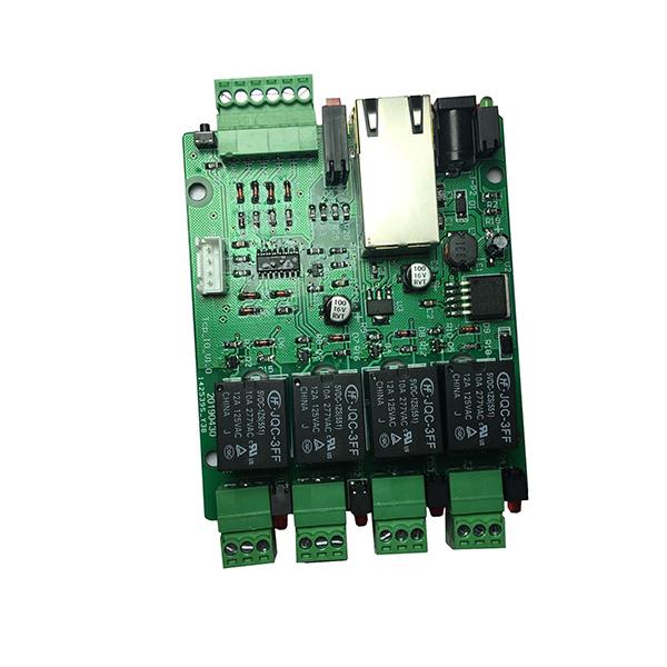 TCP/IP 이더넷 네트워크 통신 4 채널 릴레이 컨트롤러 호환 네트워크 UART-TTL 통신.