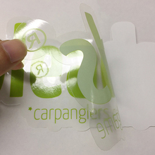 pvc window transparent vinyl clear sticker