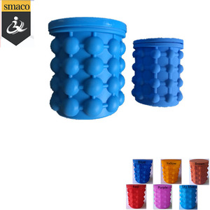 Silicone Ice Bucket Ice Cube Maker Genie
