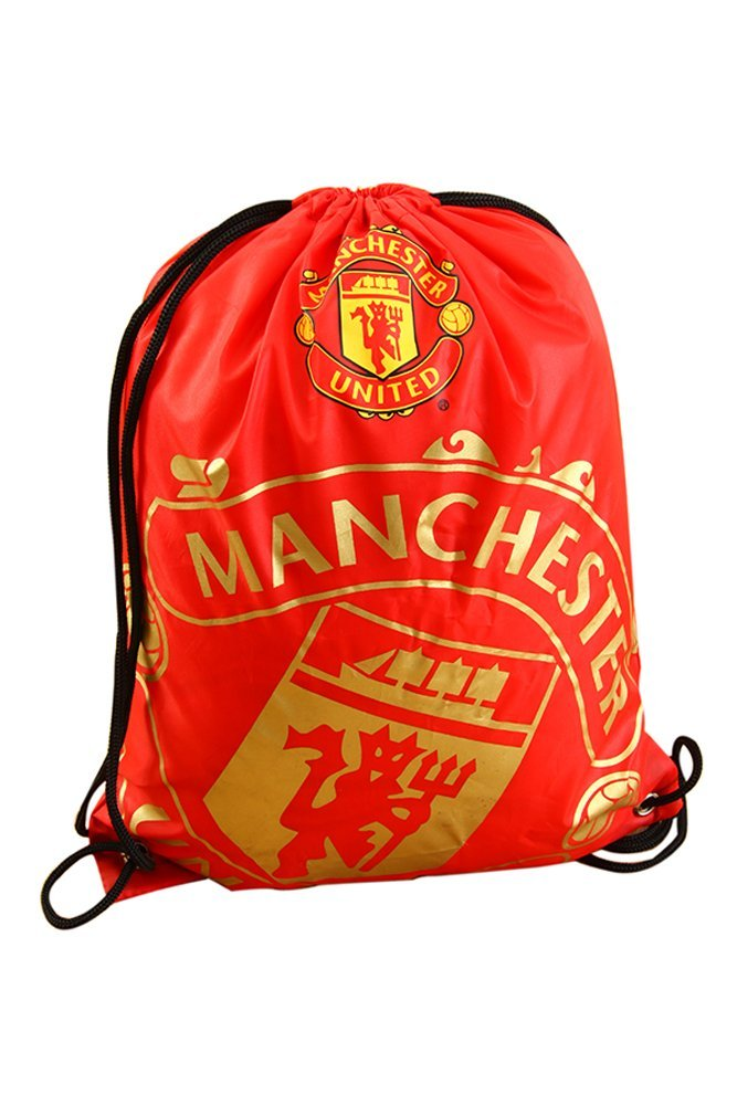 9b89b5d85d Get Quotations · Manchester United Foil Print Gym Bag