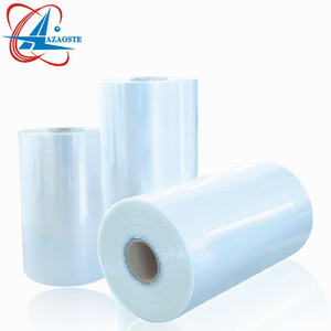 Factory Price Clear PVC Heat Shrink Wrap Plastic Packaging Film Roll