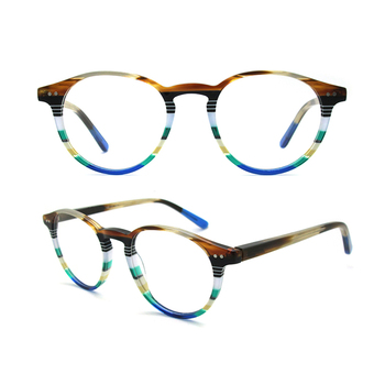 d12c459ea2 A1-1 Fashion Italian Designer Retro Round Eyewear Custom Brands Women  Eyeglasses Men Optical Eye