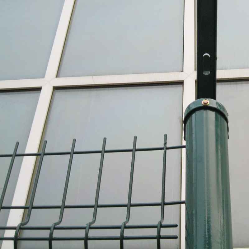 Welded Wire Mesh Fence Panels In 12 Gauge White Pvc Coated Welded ...