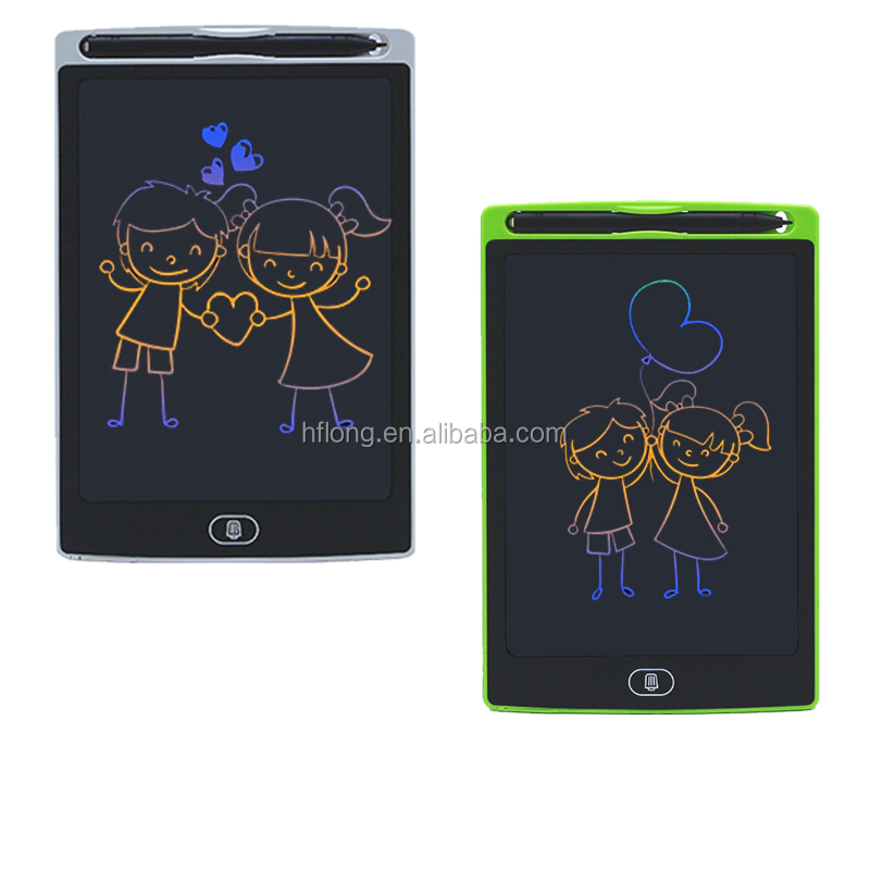 LCD Writing Tablet 8.5 inch colorful Message Graphics Kids Writing Board