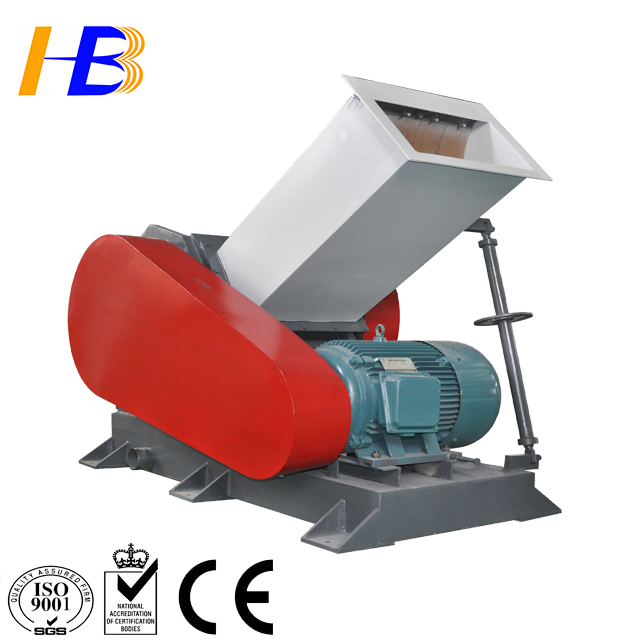 afval plastic crusher/pipe shredder plastic pvc pijp crusher