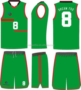 99f8fda0 Sublimación completa Europea diseñador único equipo de baloncesto Jersey  uniformes negro diseño personalizado Jersey reversible para
