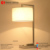 New design steel hotel decorative items lighting with high quality hotel lamps with outlets