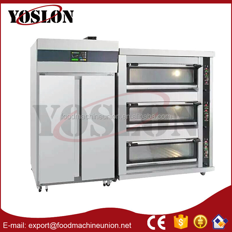 Commercial Food Machinery/Dough Proofers/Bakery deck oven