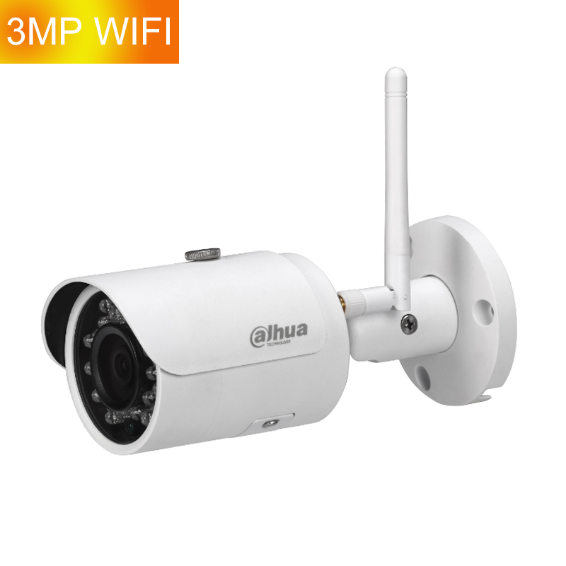 Hot Sale Dahua 3MP Network CCTV IPC-HFW1320S-W Mini Bullet IP Wireless Security Wifi Camera