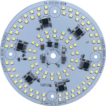 driverless ac 220v 110 lm/W 60W dob led module for LED Work Light