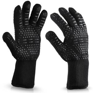 BBQ Cooking Glove 932F Extreme Heat Resistant Cooking Grilling Baking Oven Gloves