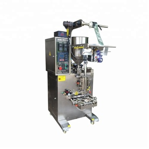 Automated Small Business Sachet Packing Machine for Juice
