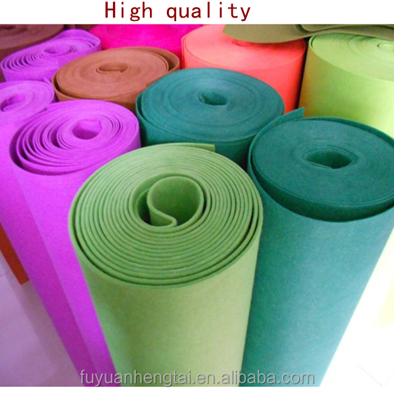 100% polyester felt for kids DIY