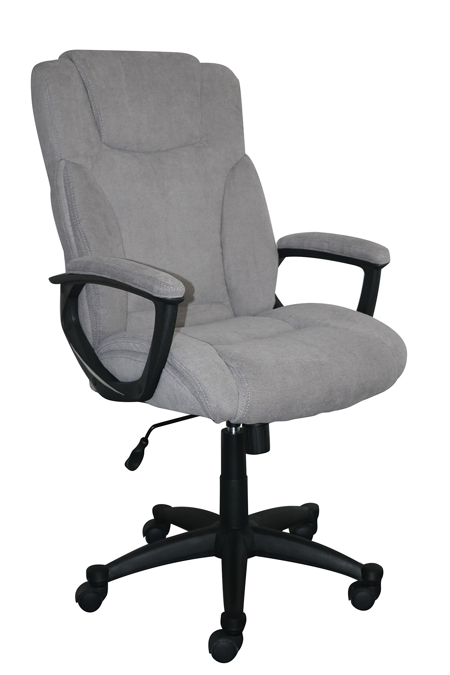 Serta Style Hannah II Office Chair, Microfiber, Gray